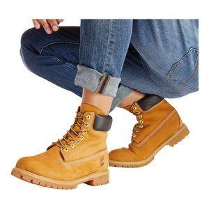 Timberland Men's 6 Inch Waterproof Boots Wheat 12M
